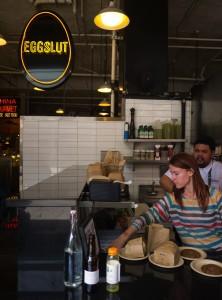 Eggslut i Downtown LA. Foto: Devan Wells
