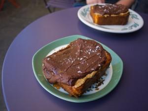 Toast fra Sqirl. Foto: Devan Wells