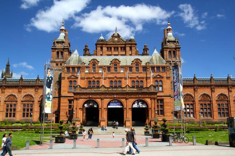 Kelvingrove Art Gallery er den mest populære turistattraksjonen i Glasgow. Foto: Euan Ramsay.