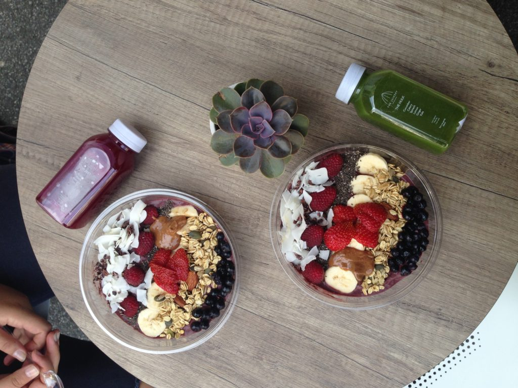 Acaibowl the juicery