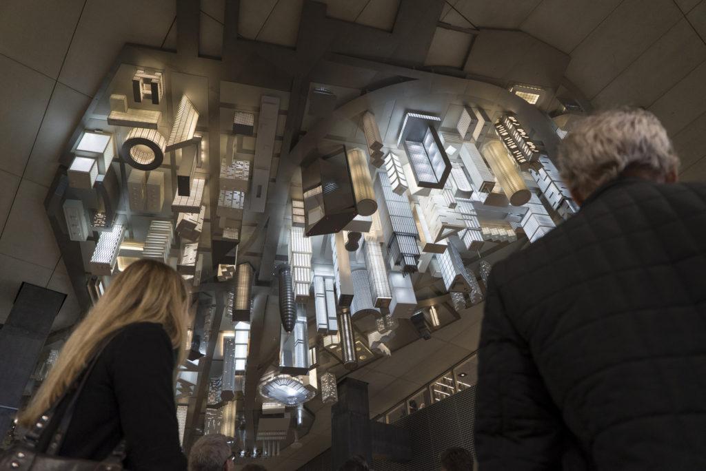 Dette kunstverket må du se når du går innom Dokk1. Foto: Dokk1