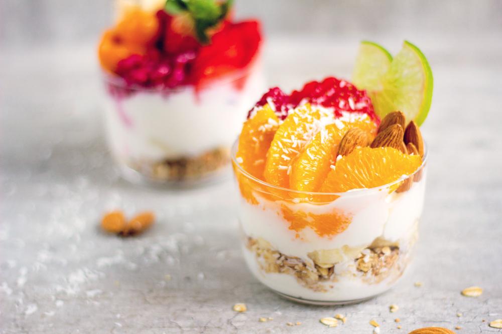 Yoghurt og granola 1