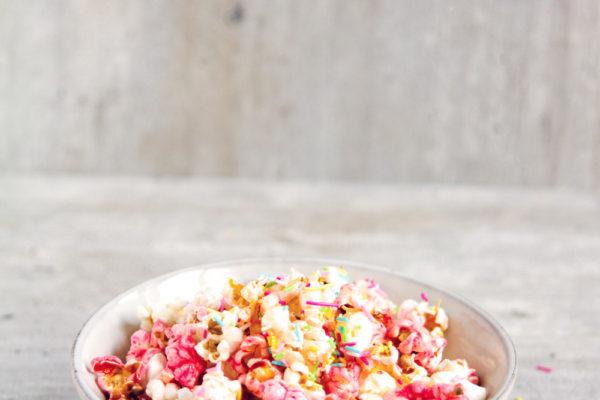 Oppskrift: Unicorn Popcorn