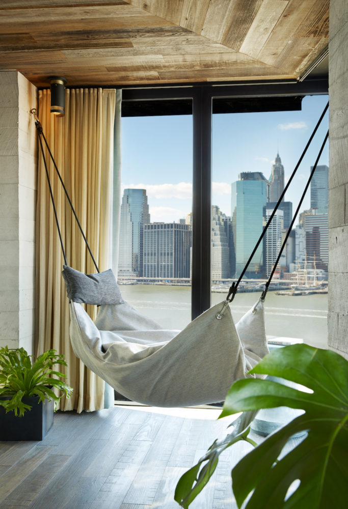 1 Hotel Brooklyn Bridge_Room_Detail_Hammock - Copy