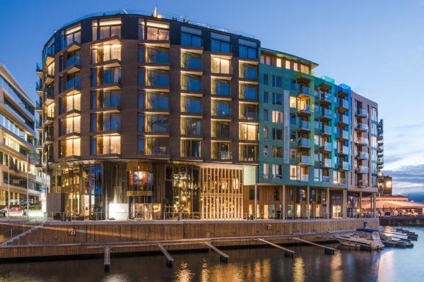 En natt på The Thief hotell i Oslo