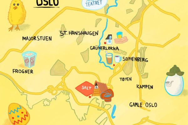 Ti ting du kan finne på i Oslo i påsken