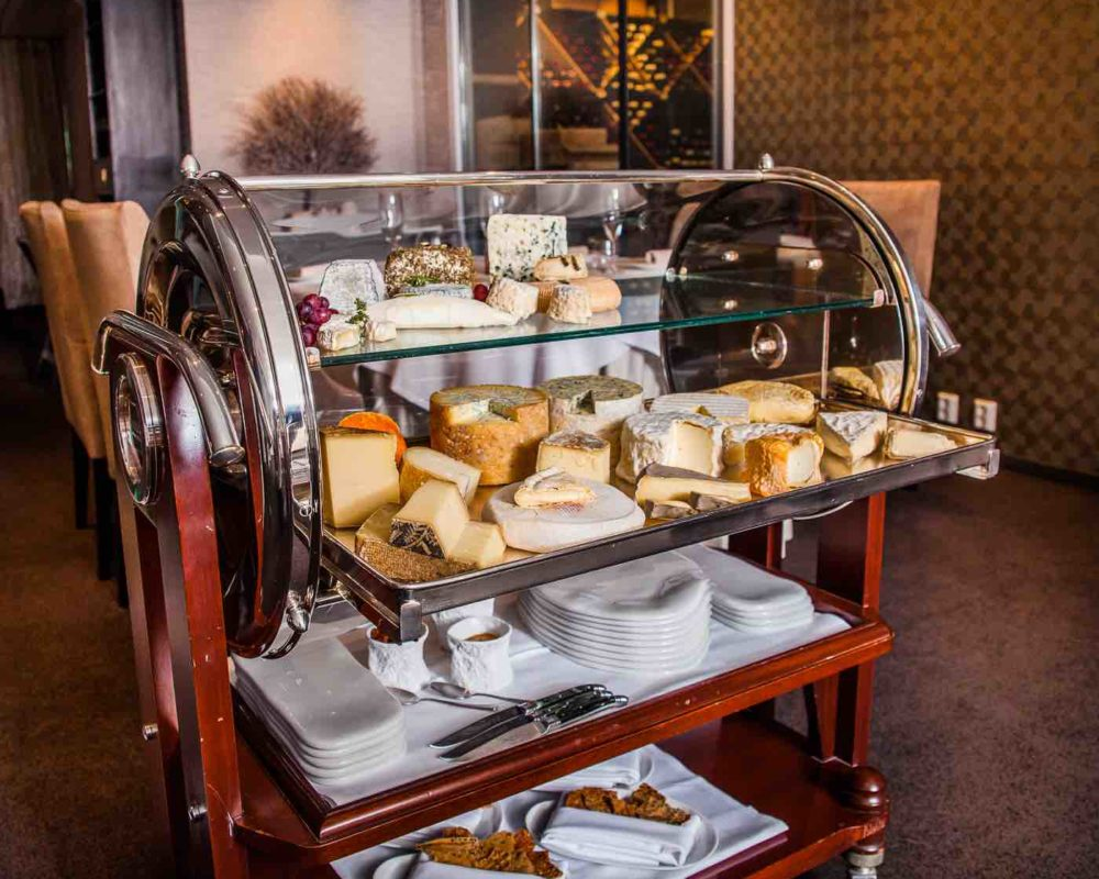 Cheese trolley alaise
