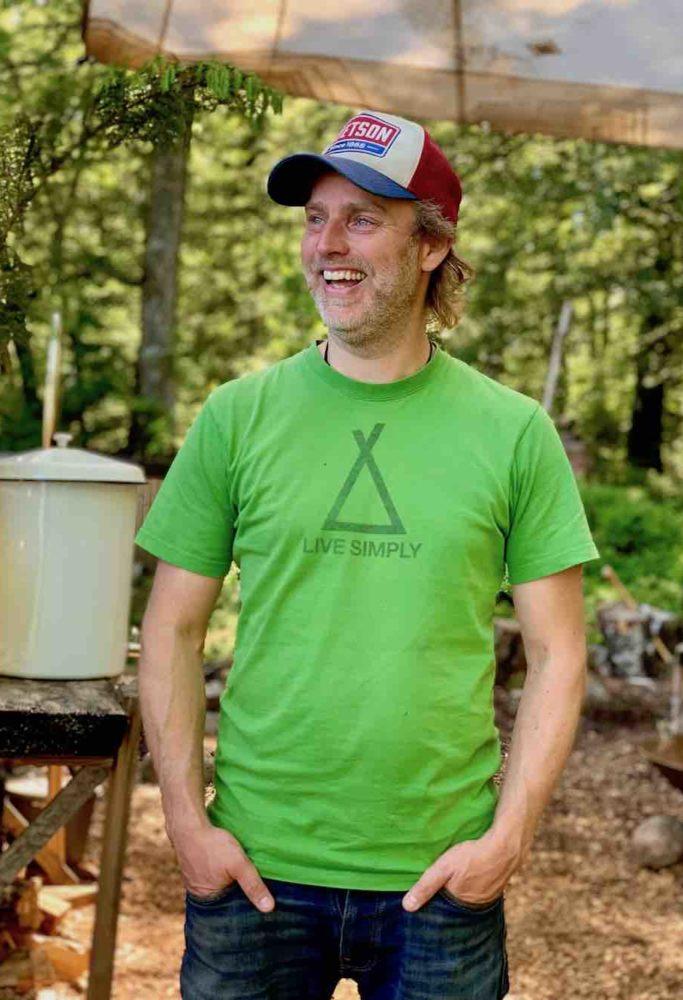 Flemming Schiøtt Hansen er en av grunnleggerne av Stedsans in the woods.