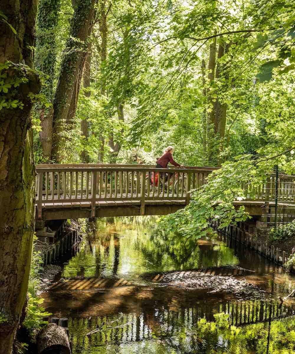 Das Tegeler Fließ ist ein Bach im Norden von Brandenburg bzw. Berlin. Er hat eine Länge von 30,4 Kilometer, von denen sich 9,9 Kilometer auf Berliner Stadtgebiet befinden. Sein Einzugsgebiet beträgt 172 km², davon 80,3 km² in der Hauptstadt. Das Gewässer wurde nach dem Berliner Ortsteil Tegel benannt.